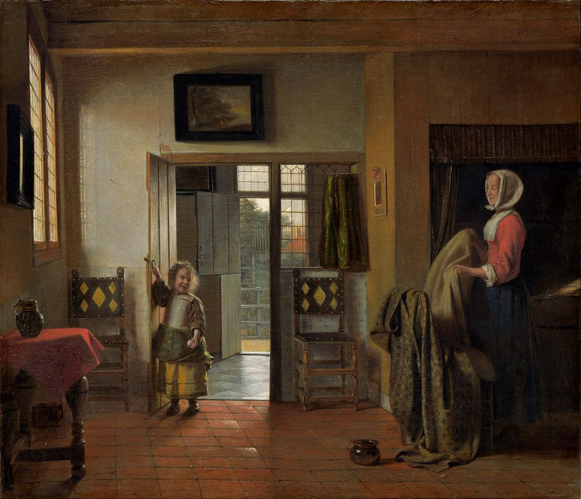 Pieter de Hooch au Rijksmuseum et à la National Gallery of Art de Washington