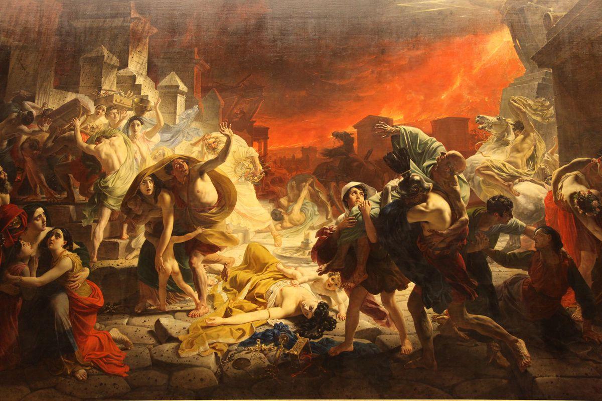 Les derniers jours de Pompéï (1833) Karl Brulov
