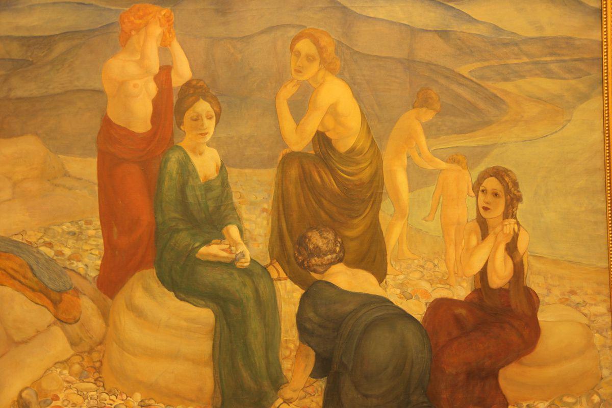 Un brin de Klimt ? de Puvis de Chavannes ?