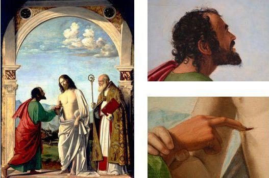 L'incrédulité de Saint-Thomas, Cima da Conegliano, Accademia