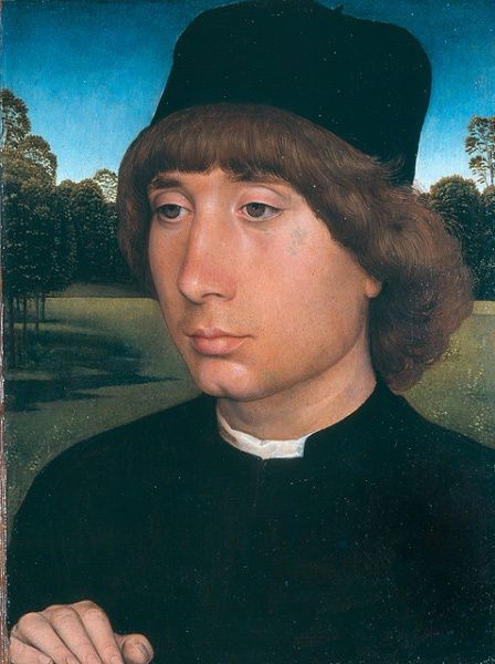 Hans Memling, portrait d'un jeune homme (1475/80)