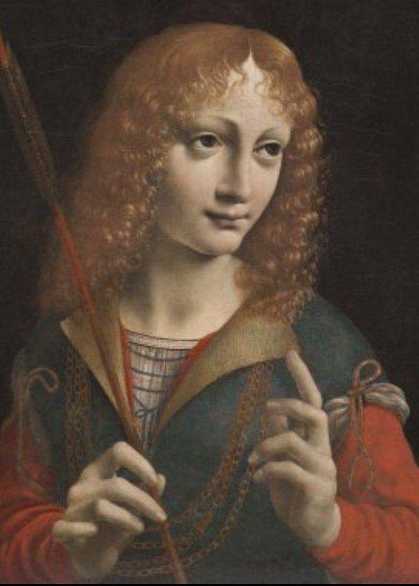 Jean Galeas Sforza, attribué à Léonard de Vinci
