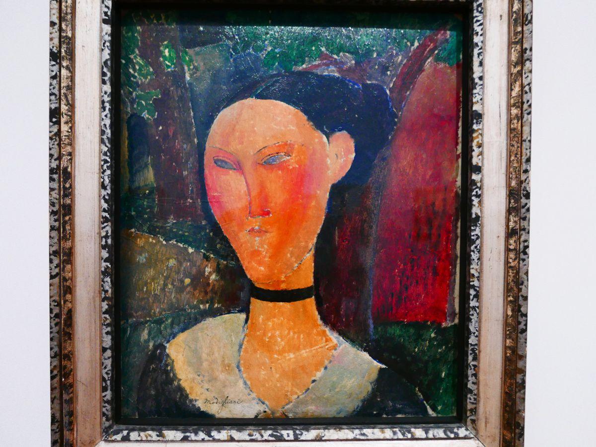 Le second Modigliani est un portrait de Jean Cocteau