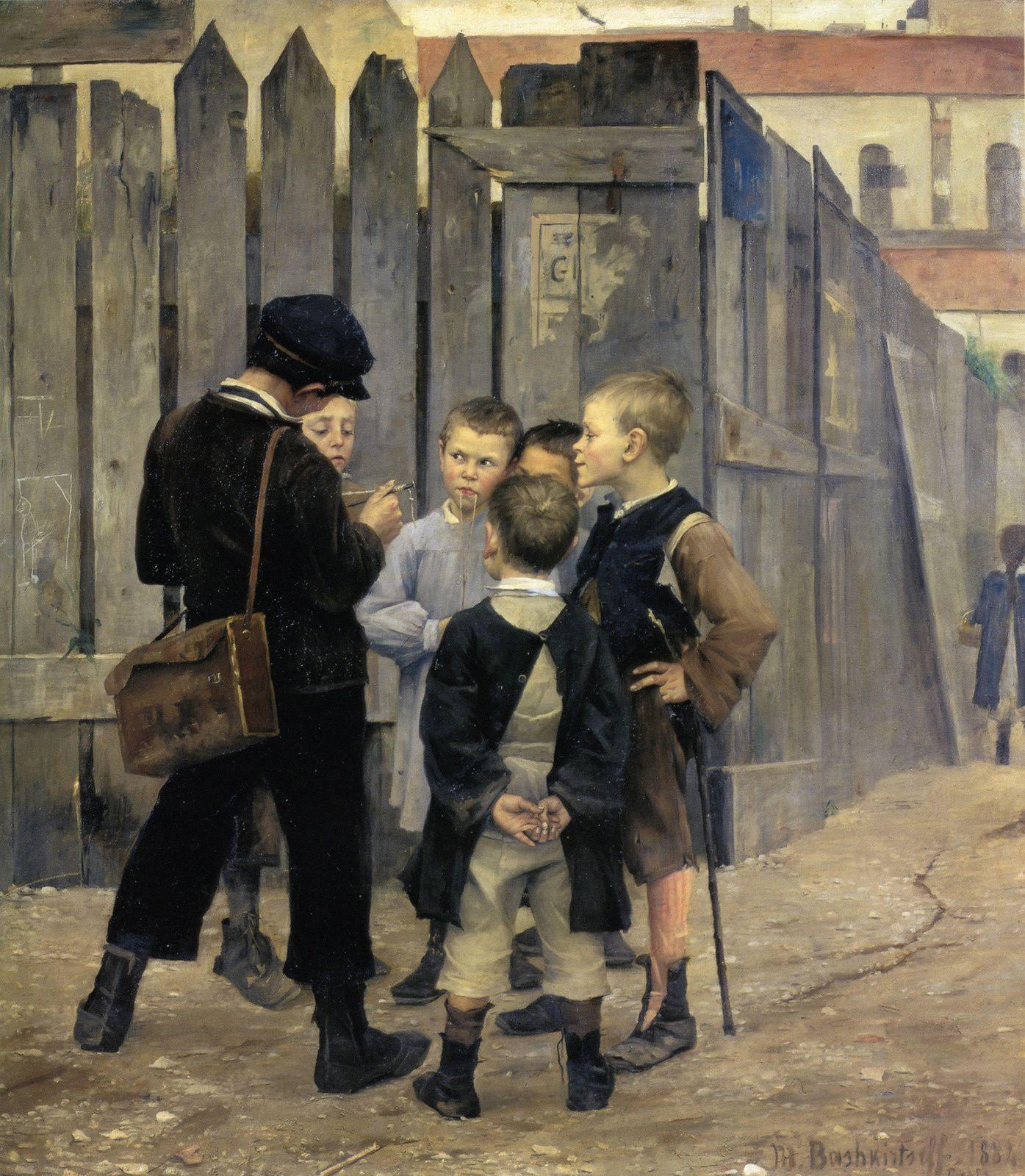 La Réunion - Marie Bashkirtseff - 1884 - Musée d'Orsay