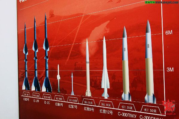 Missile Sol-air chinois. Photo DR