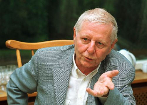 Hans Magnus Enzensberger. Photo DR