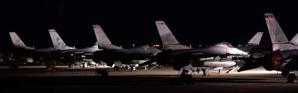 F16 sur la base de Souda en Grèce. Photo DR