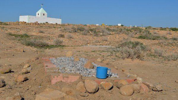 La tombe de Razika Chérif à Magra. Photo DR