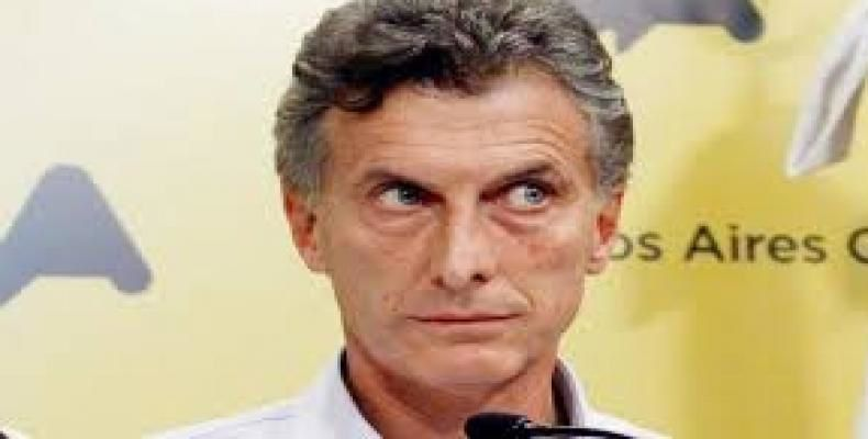 Mauricio Macri. Photo DR