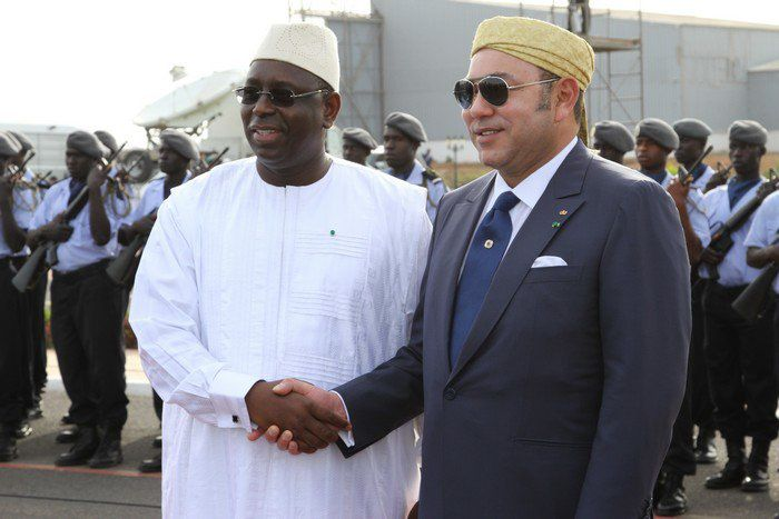 Le président Macky Sall et Mohamed VI. Photo DR