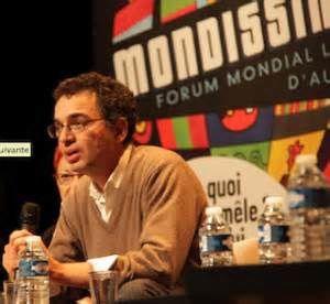 """Serge Halimi, directeur du Monde diplomatique, auteur des """"Nouveaux chiens de garde. Photo DR"""