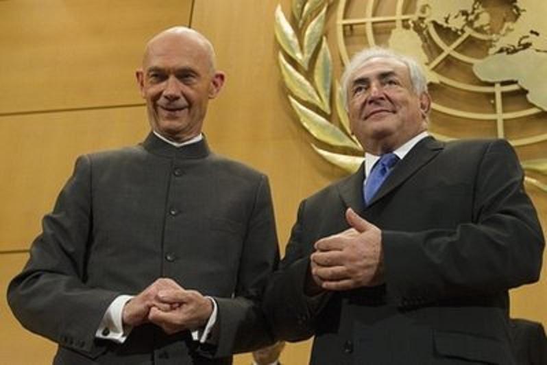 Les deux mondialistes que la France a donné à l'humanité. Photo DR