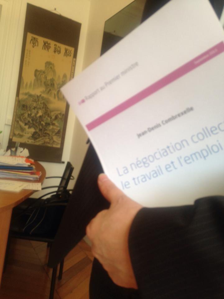 6c03fd3ba33 Le rapport Combrexelle du 9 septembre 2015  la négociation collective