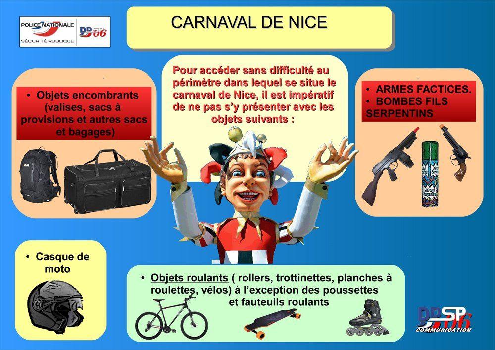 Carnaval de Nice 2017: un cortège sous haute surveillance Comment se déguiser ?