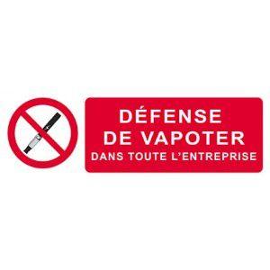 Vapotage au travail: conditions d'application de l'interdiction de vapoter avec le décret du 25 avril 2017