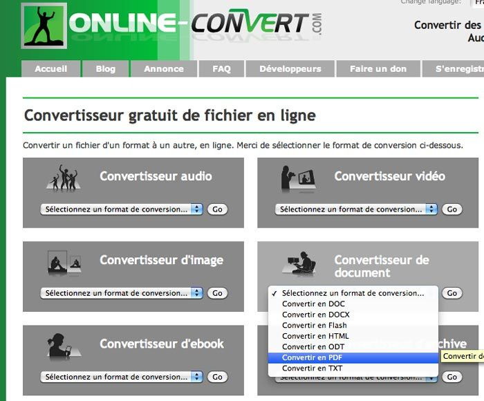 Comment convertir un fichier word en pdf gratuitement - Convertir fichier pdf en open office ...