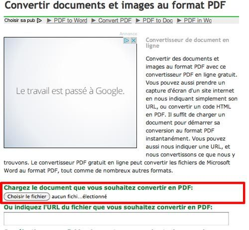 convertir fichier odt en pdf en ligne