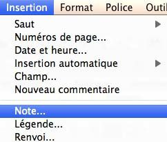 Insertion note de page