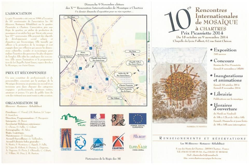 10th International Mosaic Exhibition Chartres - 2014