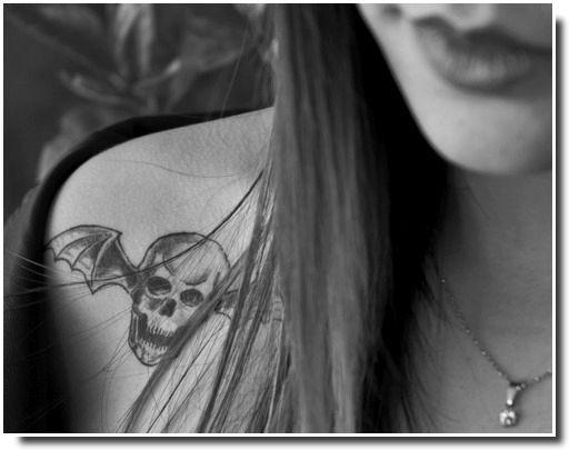 tatouage tête de mort