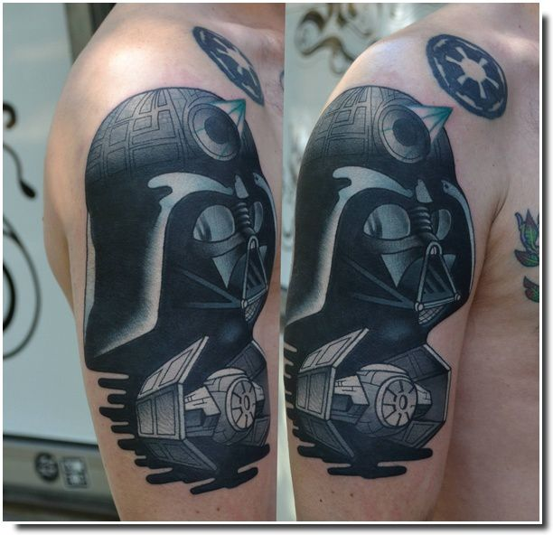 Tatouages Star Wars / Star Wars tattoo / U-MAN ART / Fat Manu