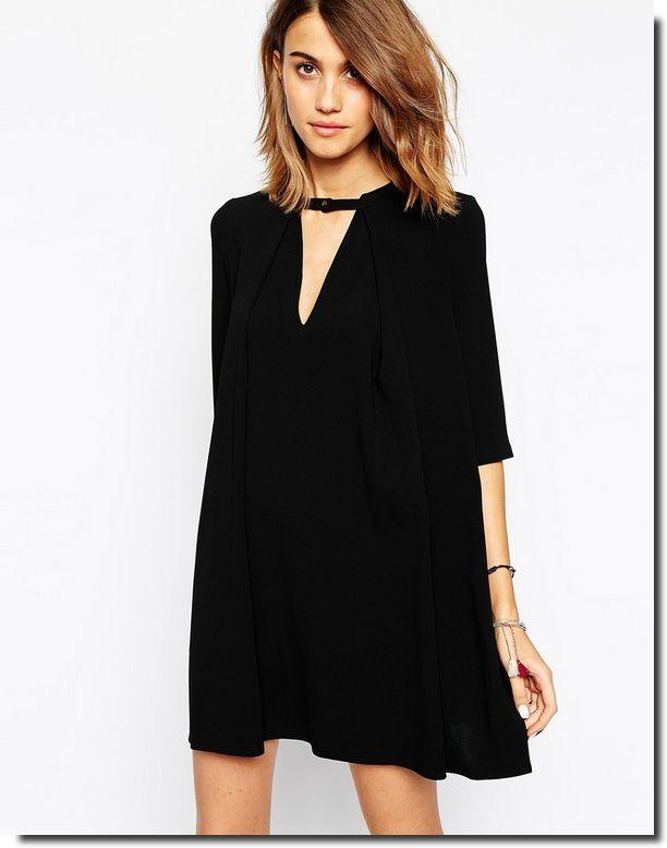 Robe noire printemps 2015