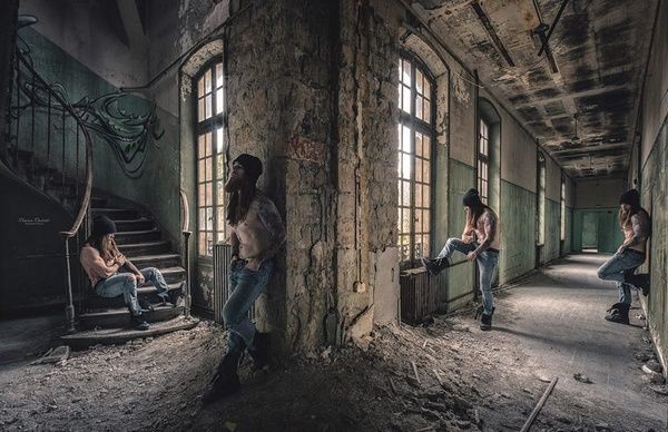 Human Revives Abandoned Places / Charlie - inked & bearded