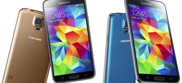 L'actu technologie: Samsung présente le Galaxy S5: Un écran plus grand,appareil photo plus précis,une nouvelle interface !