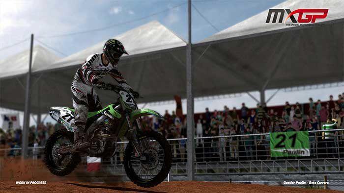 Jeux video: MXGP - The Official Motocross Videogame !