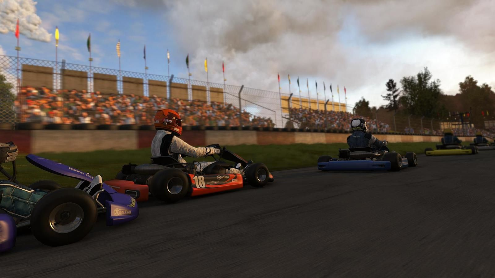 project cars se donne a fond dans le karting ps4 xboxone. Black Bedroom Furniture Sets. Home Design Ideas