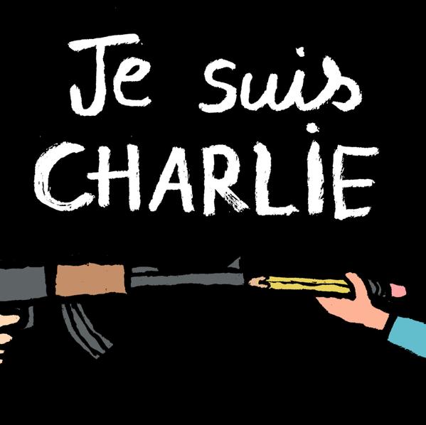 L'actu du jour: Les dessinateurs rendent hommage a Charlie Hebdo !