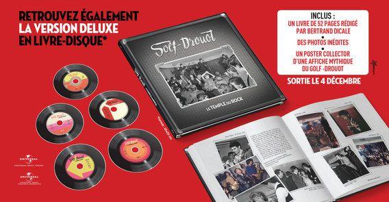 Golf-Drouot, coffret anniversaire 5 cds, le Temple du Rock !