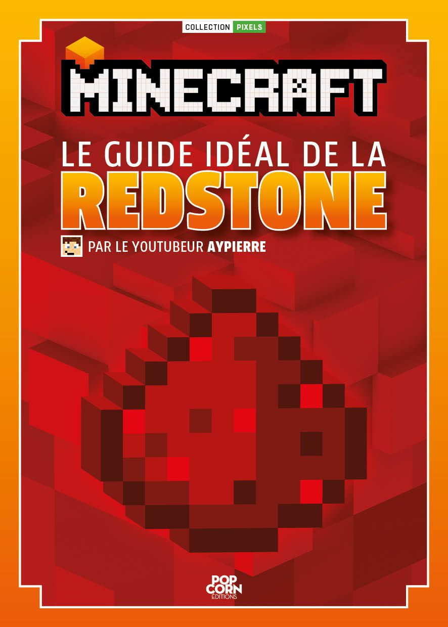Jeux video livre minecraft le guide id al de la redstone cotentin w - Jeux video de minecraft ...