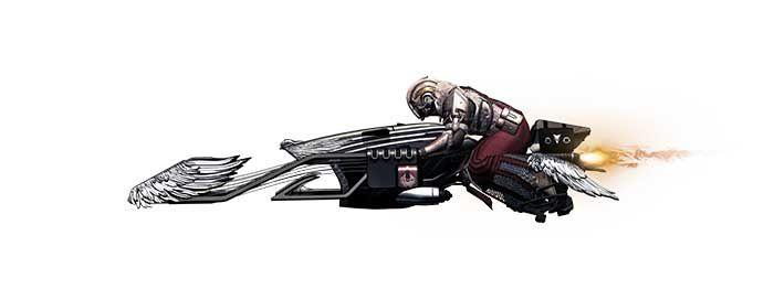 Jeux video: #Destiny #Bungie lève le voile sur le Gjallarwing ! #Activision