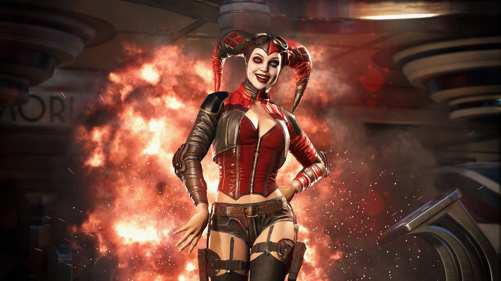 Jeux video: Harley Quinn et #Deadshot de la Suicide Squad arrive dans Injustice 2 !