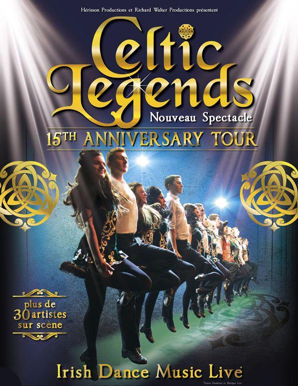 #concert : Celtic Legends en tournée en 2017 : 15th Anniversary Tour !