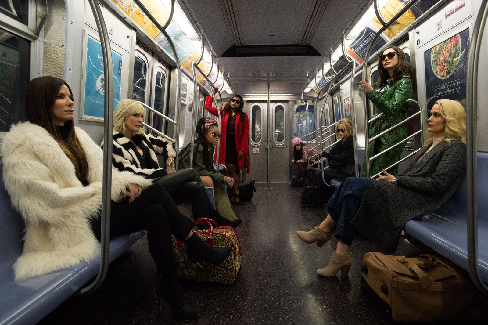 #Cinema : OCEAN'S EIGHT - PREMIÈRE PHOTO OFFICIELLE !