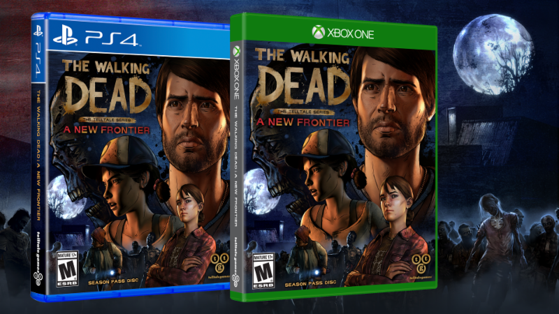 The Walking Dead : The Telltale Series - A New Frontier en version physique !