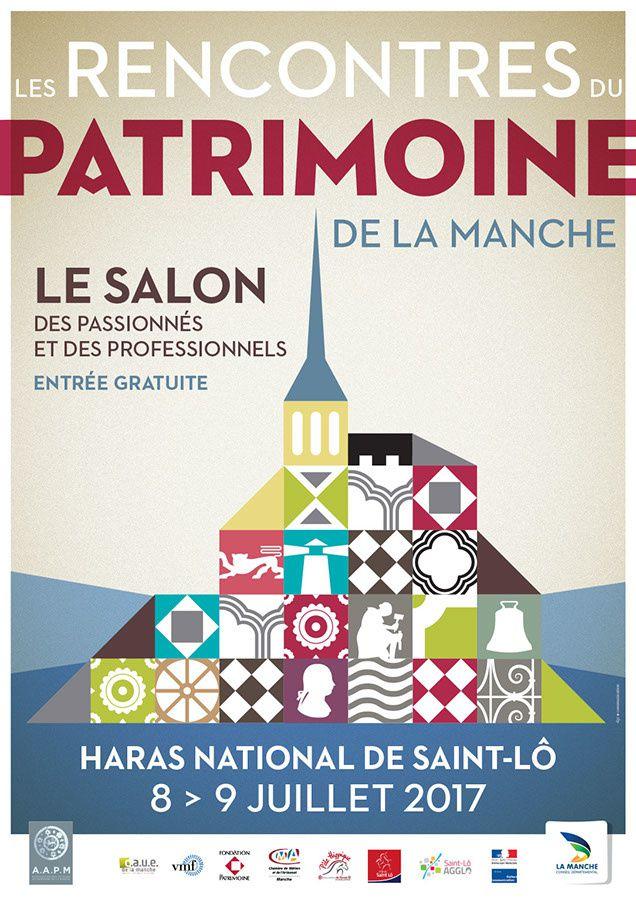 #Evenement : Détails sur le Premier salon du patrimoine de la #Manche a Saint-Lô !