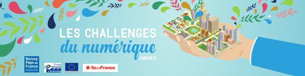 Les Challenges du numérique de Roissy Pays de France : les lauréats de la saison 2 !