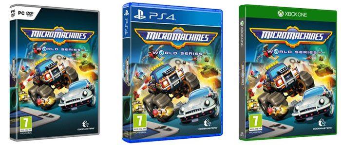 Micro Machines fera son retour triomphal le 23 juin sur #xbox et #PS4
