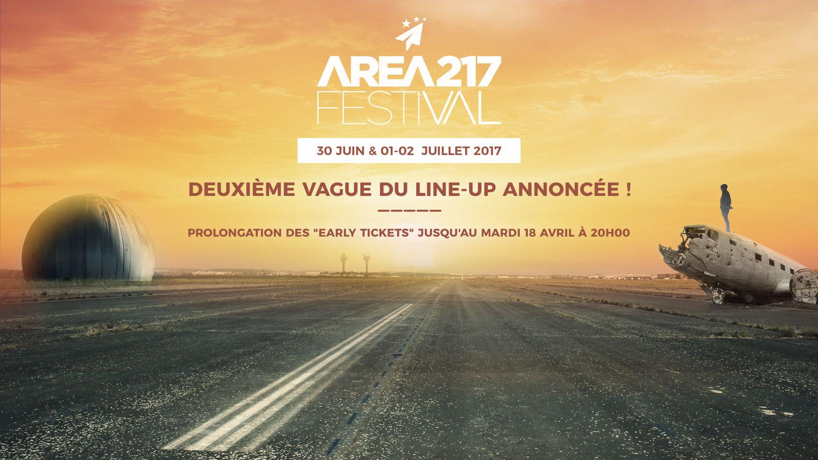 #Festival #AREA217 : Festival francilien dédié aux musiques électroniques programme complet  !