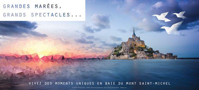 #Normandie : Saison culturelle 2017 de l'abbaye du Mont-Saint-Michel !