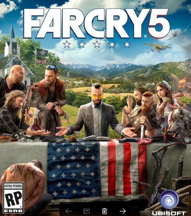 #UBISOFT : Premier artwork pour FAR CRY 5 !