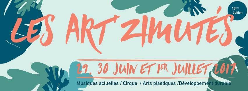 #Cherbourg : Programmation compléte des #ARTZIMUTES DU 29 JUIN AU 1ER JUILLET