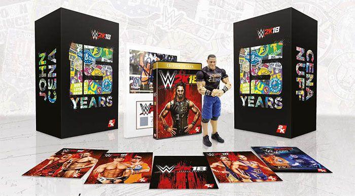 WWE 2K18 présente l'Edition Collector Cena (Nuff) !