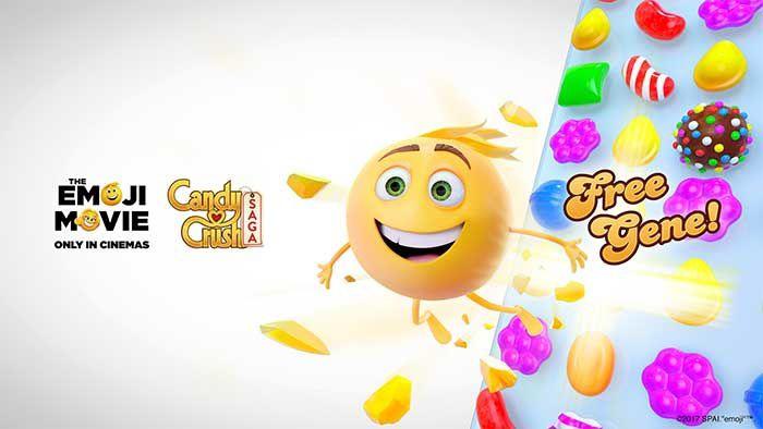 Candy Crush Saga : Les niveaux aux couleurs du film Le Monde Secret des #Emojis !