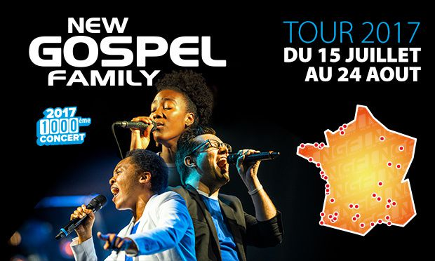 New Gospel Family en concert en #Normandie !