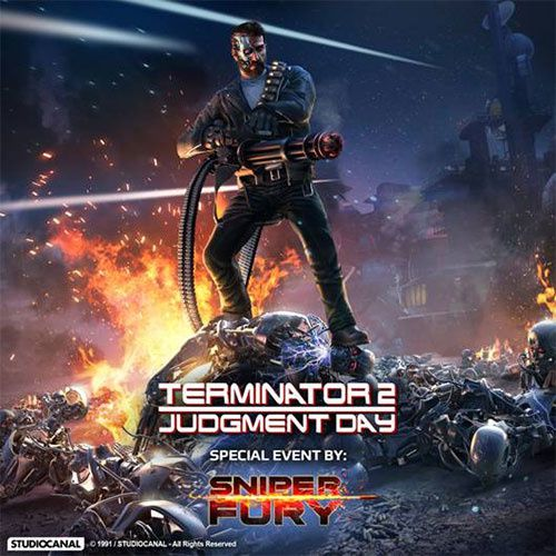 Nouvelle mise à jour - Terminator arrive dans Sniper Fury