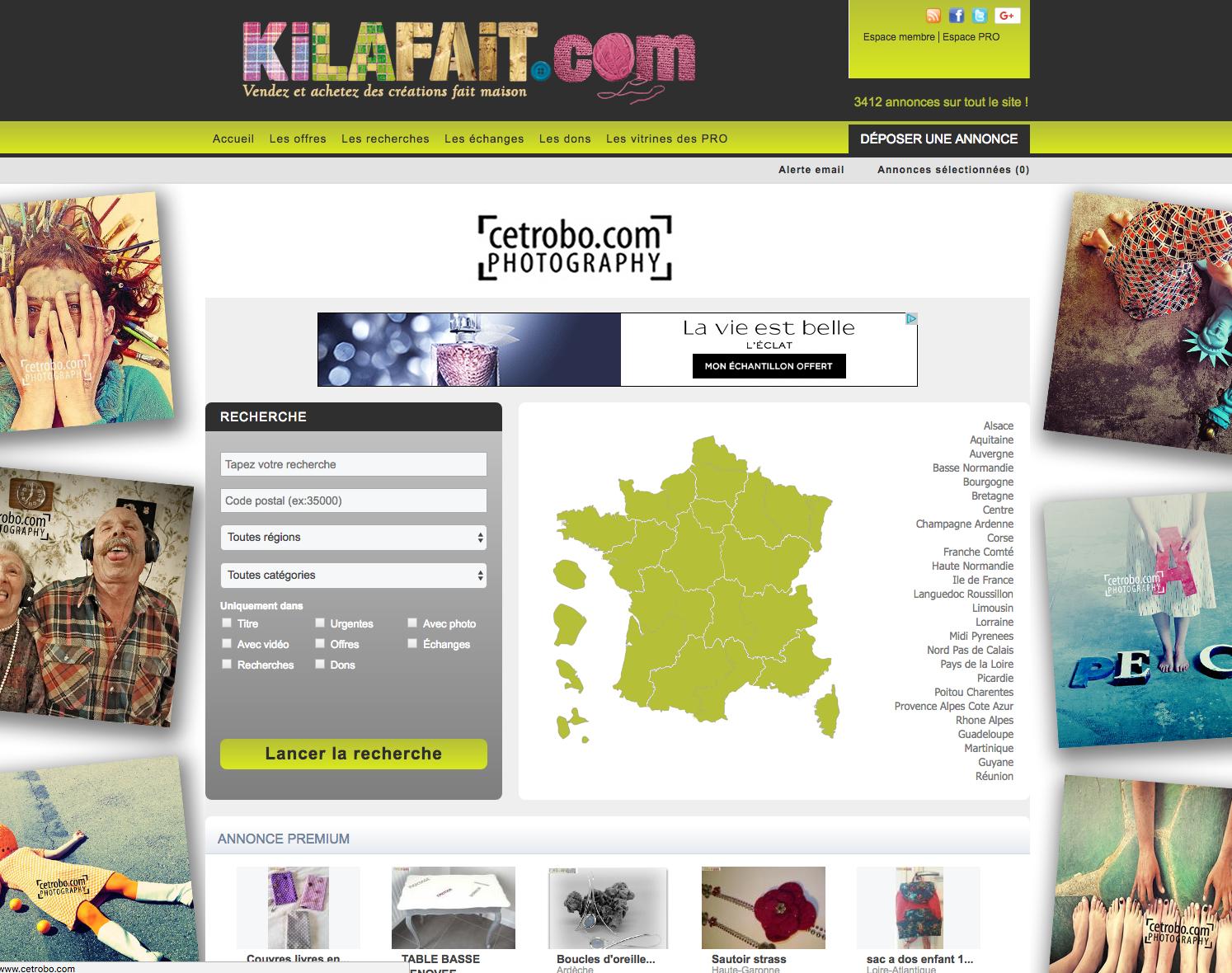 Kilafait.com une alternative à A Little Market et #Leboncoin !
